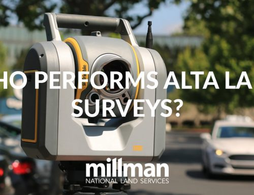 Who performs ALTA land surveys?
