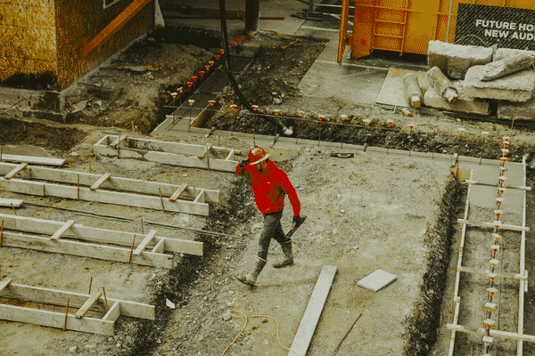 construction workers at a site